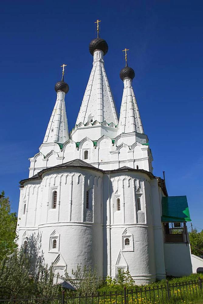 Church of the Dormition of the Theotokos, Alexey Monastery, Uglich, Golden Ring, Yaroslavl Oblast, Russia - 801-2370
