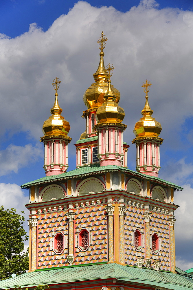 St. John the Baptist Church, The Holy Trinity Saint Sergius Lavra, UNESCO World Heritage Site, Sergiev Posad, Russia, Europe - 801-2395