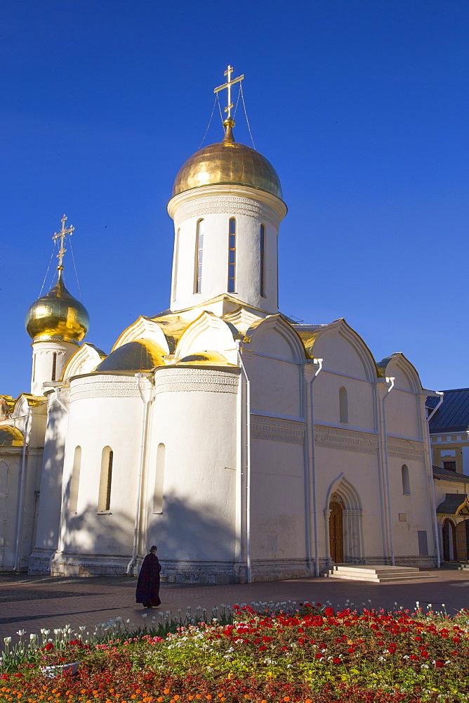 Holy Trinity Cathedral, The Holy Trinity Saint Serguis Lavra, UNESCO World Heritage Site, Sergiev Posad, Russia
