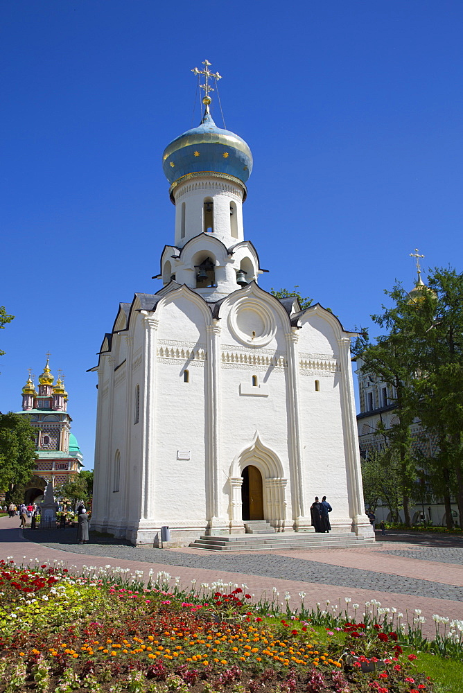 Holy Spirit Church, The Holy Trinity Saint Sergius Lavra, UNESCO World Heritage Site, Sergiev Posad, Russia, Europe - 801-2398