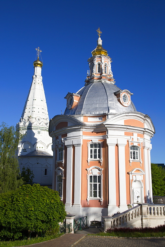 Holy Virgin of Smolensk Church, The Holy Trinity Saint Sergius Lavra, UNESCO World Heritage Site, Sergiev Posad, Russia, Europe - 801-2399