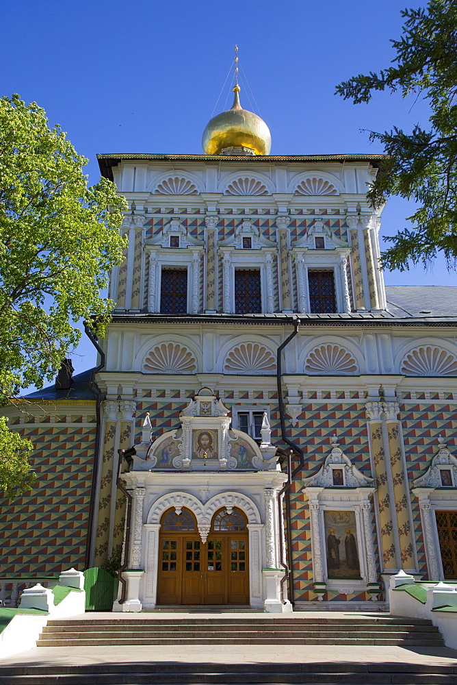 St. Sergius Church, The Holy Trinity Saint Sergius Lavra, UNESCO World Heritage Site, Sergiev Posad, Russia, Europe - 801-2401