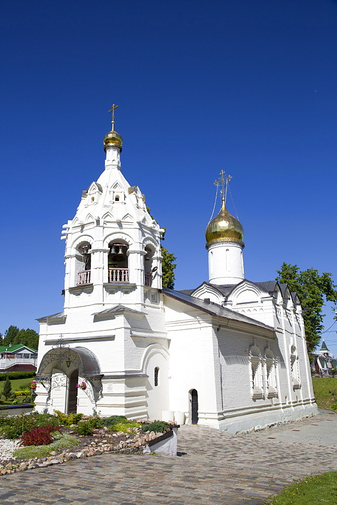 Church of Paraseva, Holy Trinity Saint Sergius Lavra, UNESCO World Heritage Site, Sergiev Posad, Russia, Europe - 801-2408