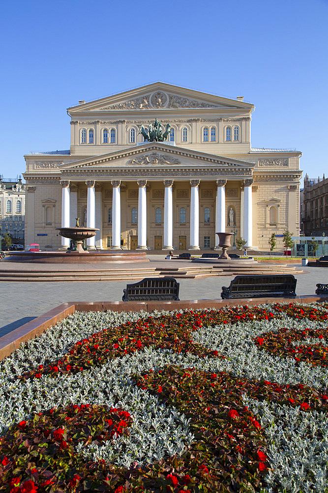 Bolshoi Theatre, Moscow, Russia, Europe