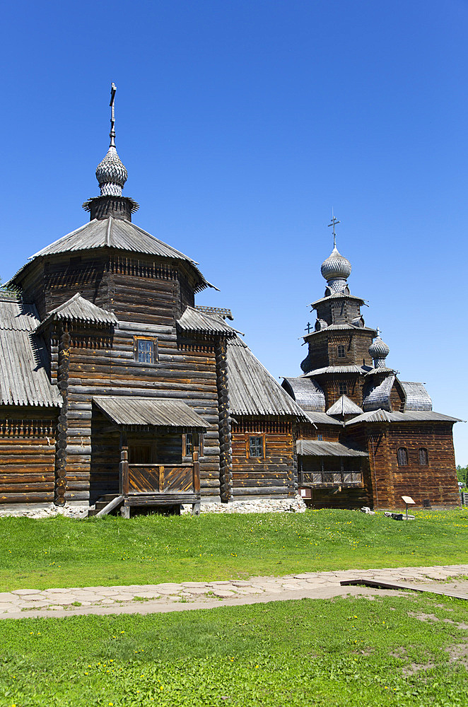 Museum of Wooden Architecture, Suzdal, Vladimir Oblast, Russia, Europe