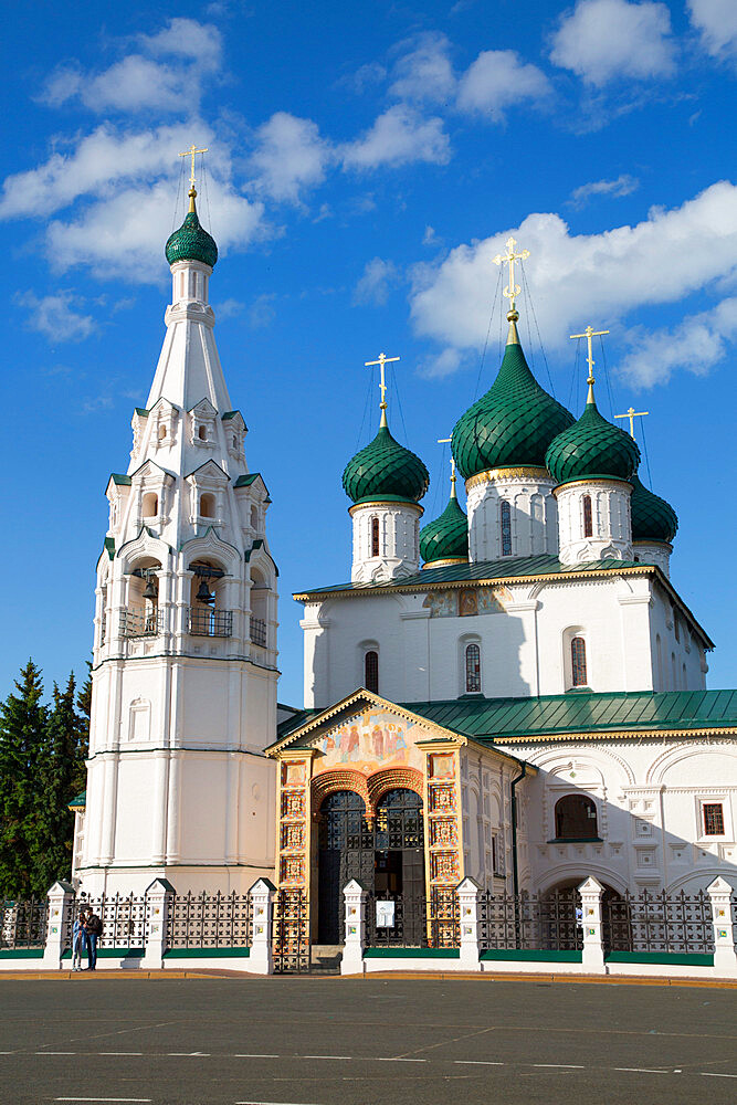 Elijah the Prophet Church, UNESCO World Heritage Site, Yaroslavl, Golden Ring, Yaroslavl Oblast, Russia