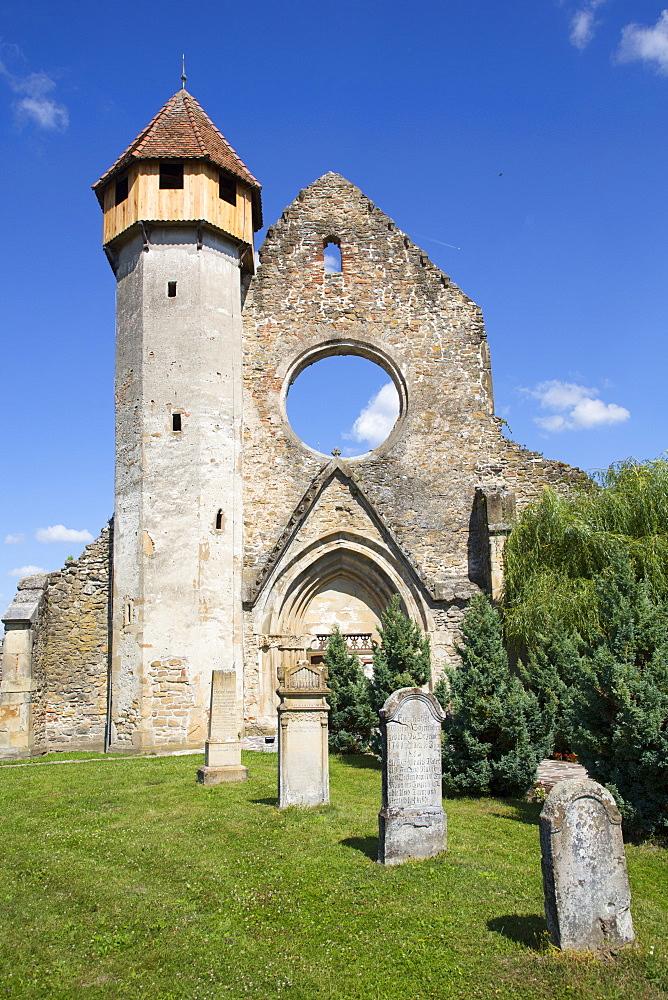 Ruins, Cistercian Monastery, Founded 1202, Carta, Sibiu County, Transylvania Region, Romania, Europe