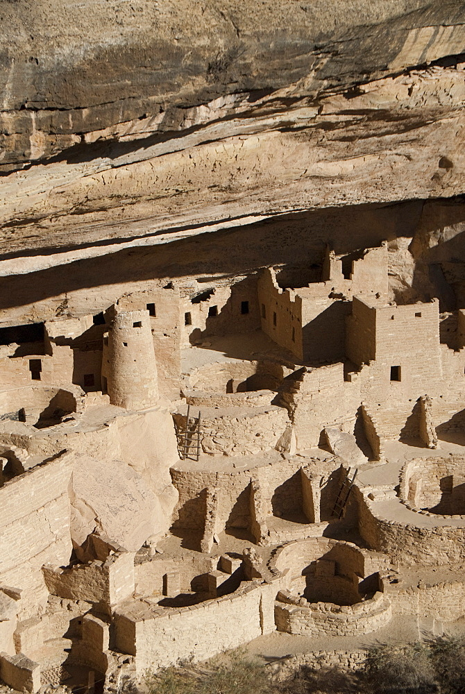 Mesa Verde National Park, Cliff Palace, UNESCO World Heritage Site, Colorado, United States of America, North America