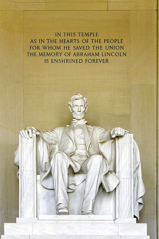 The Lincoln Memorial, Washington, D.C., United States of America, North America