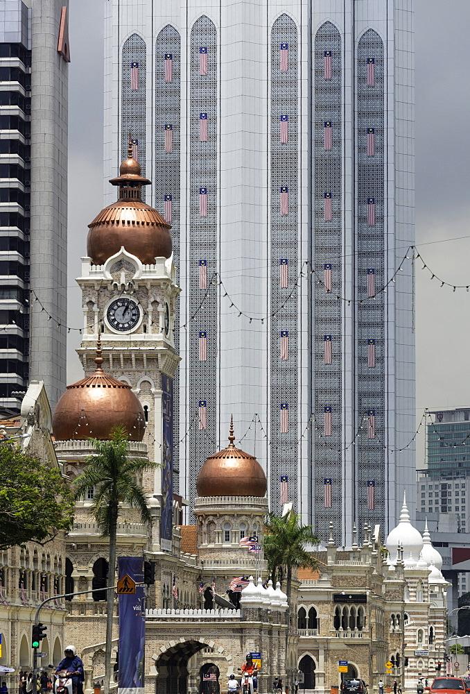 Sultan Abdul Samad Building, Merdeka Square, Kuala Lumpur, Malaysia, Southeast Asia, Asia - 803-252
