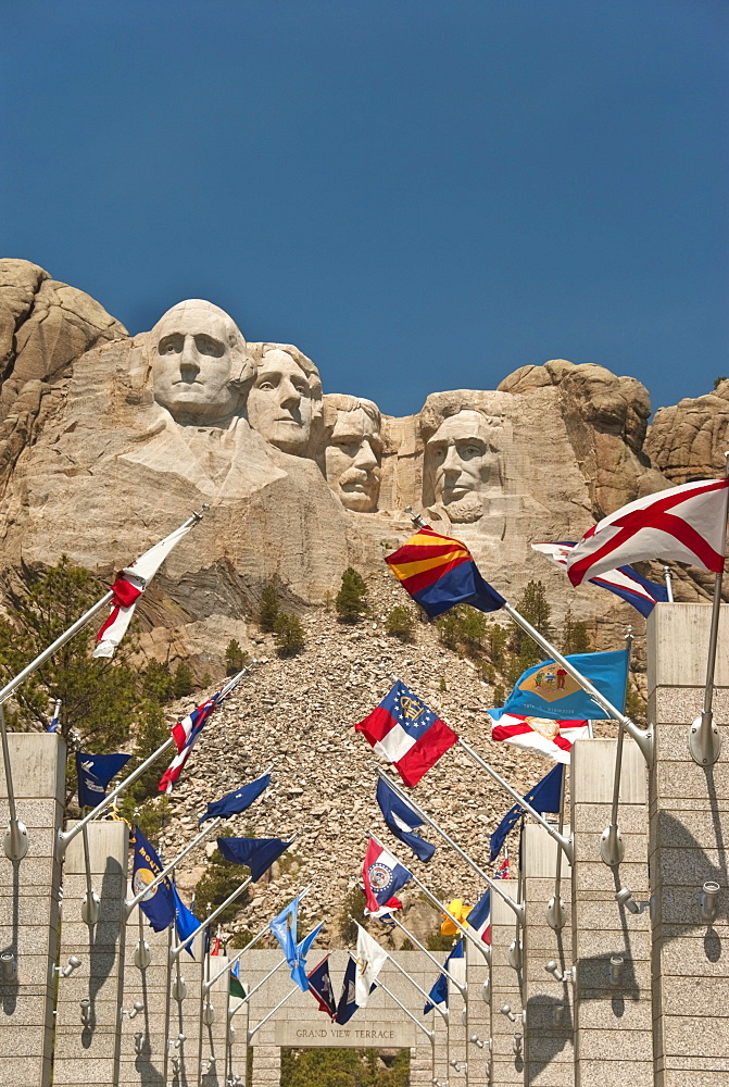 Mount Rushmore National Monument, South Dakota, United States of America, North America