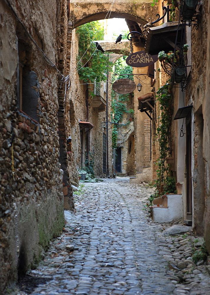 Bussana Vecchia, Liguria, Italy, Europe