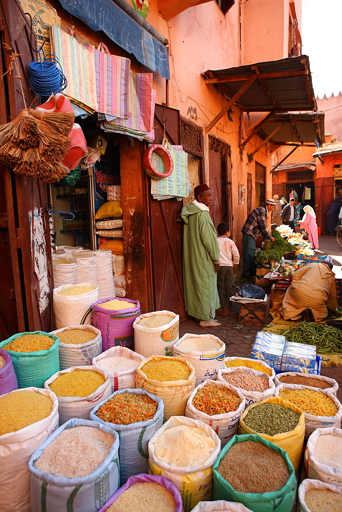 Shop, Marrakech, Morocco, North Africa, Africa - 806-239