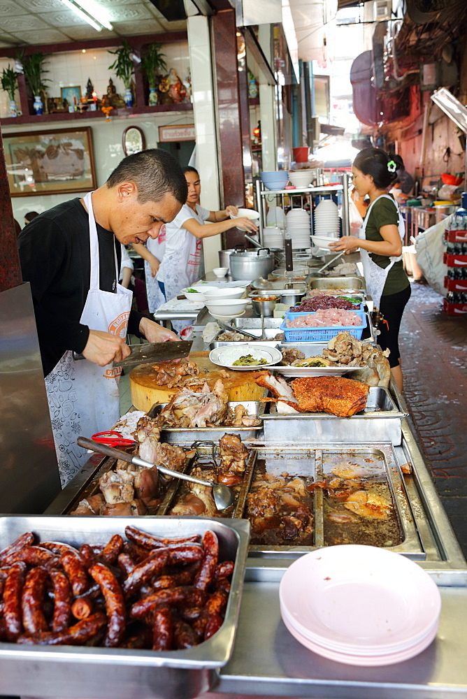 Restaurant, China Town, Bangkok, Thailand, Southeast Asia, Asia - 806-342