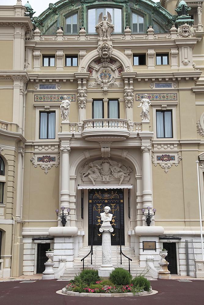 Monte Carlo Opera House, Monte Carlo, Monaco, Cote d'Azur, Mediterranean, Europe