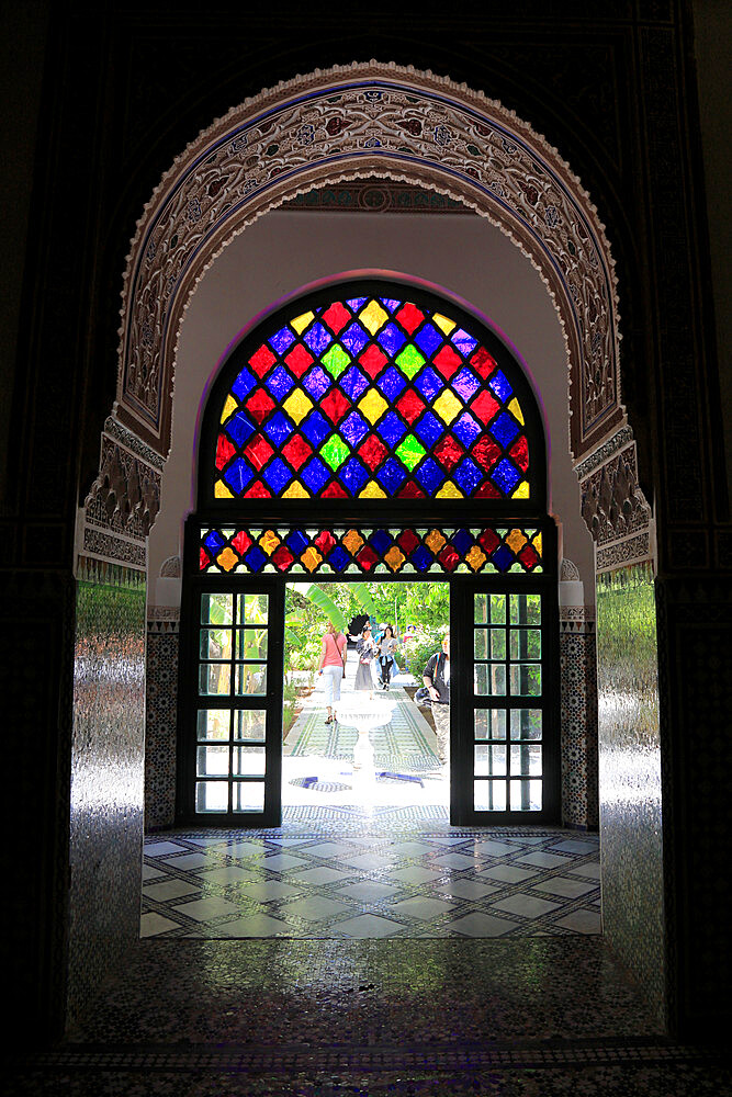Bahia Palace, UNESCO World Heritage Site, Marrakesh, Marrakech, Morocco, North Africa