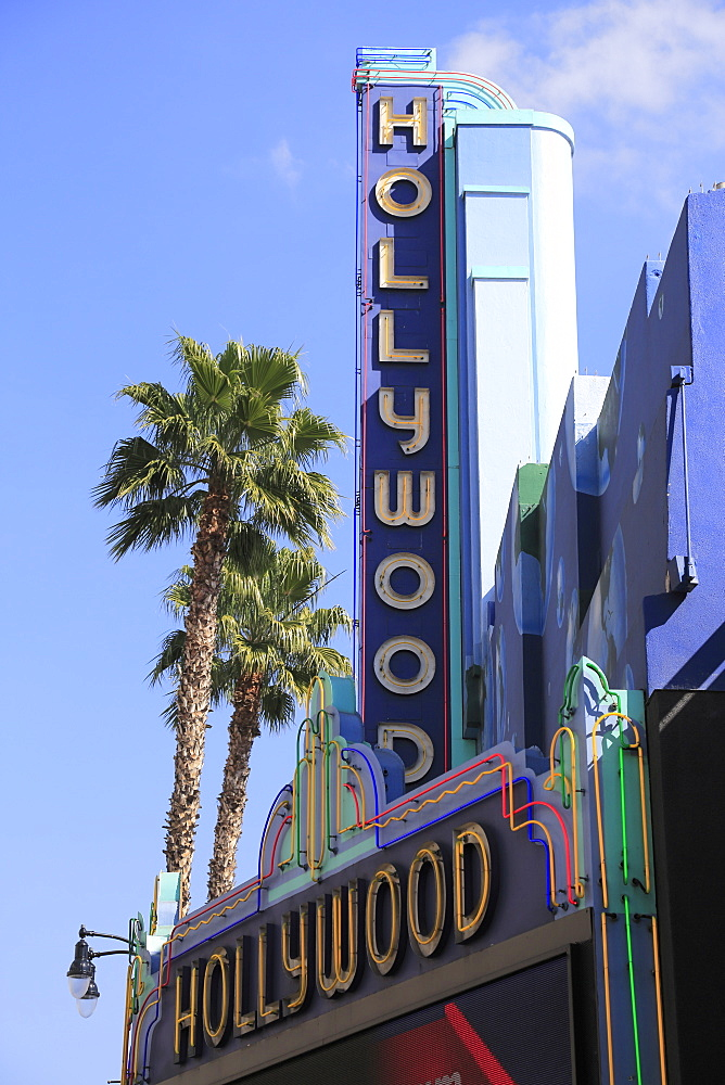 Hollywood Boulevard, Hollywood, Los Angeles, California, USA