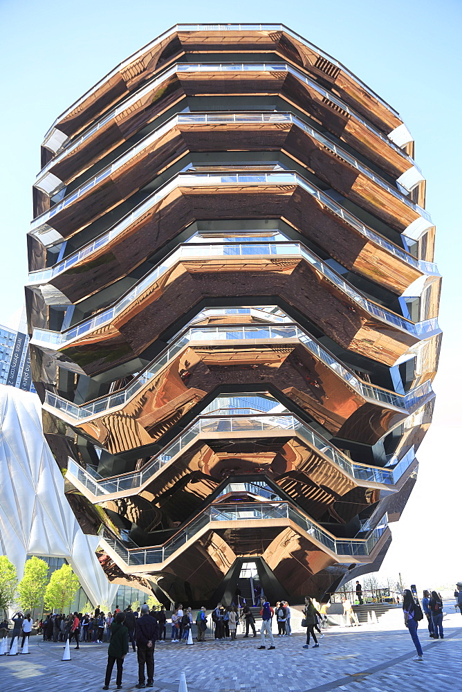 The Vessel, Staircase, Hudson Yards, Manhattan, New York City, United States of America, North America