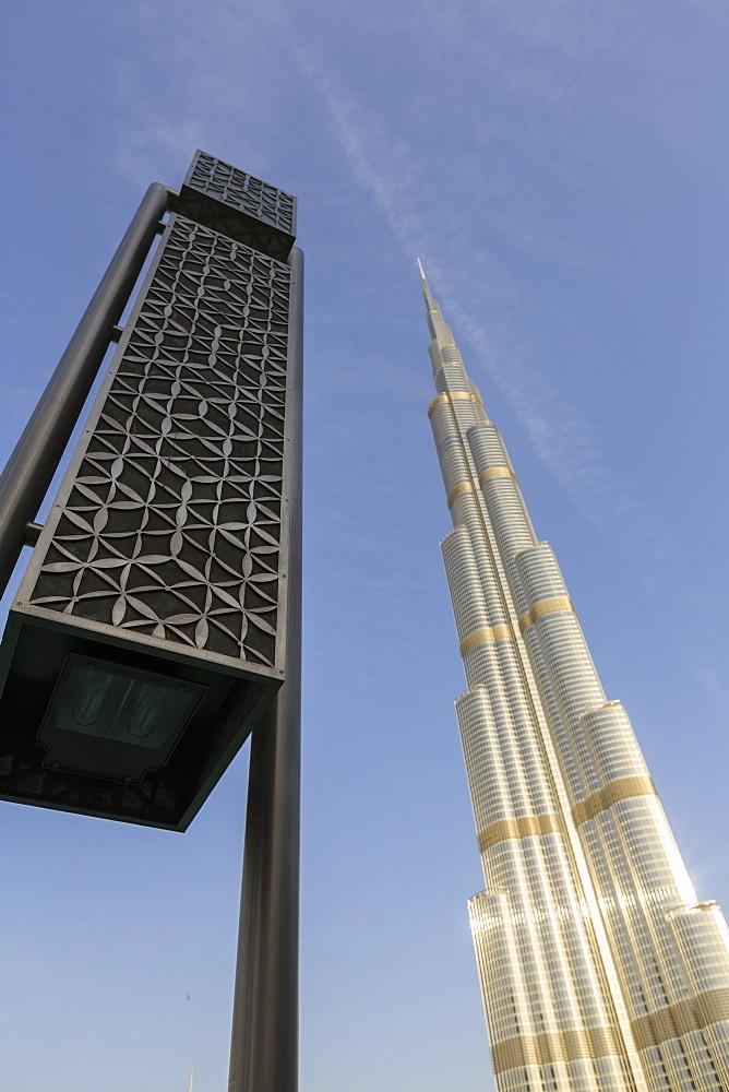 Burj Khalifa, Dubai, United Arab Emirates, Middle East