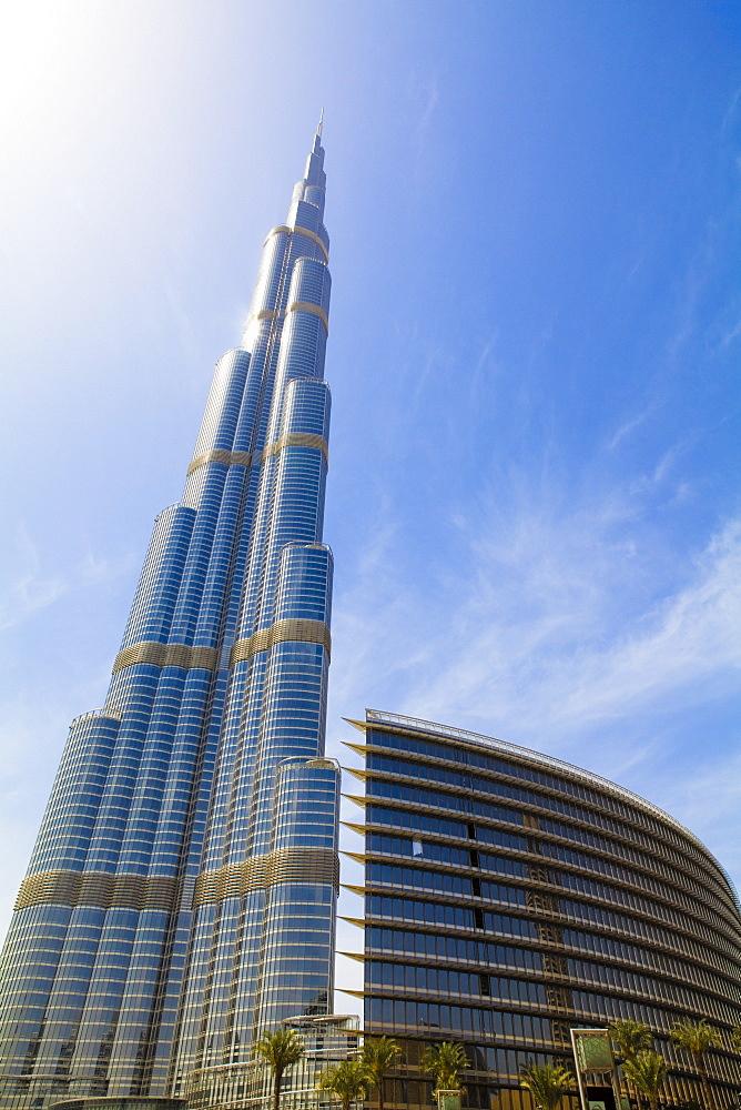 burj khalifa tallest man made structure in Tallest skyscraper - burj khalifa (united arab emirates) source: wikipedia, image: wikipedia standing at 8298 meters (2,722 feet), the burj khalifa is currently the tallest man made structure in the world.