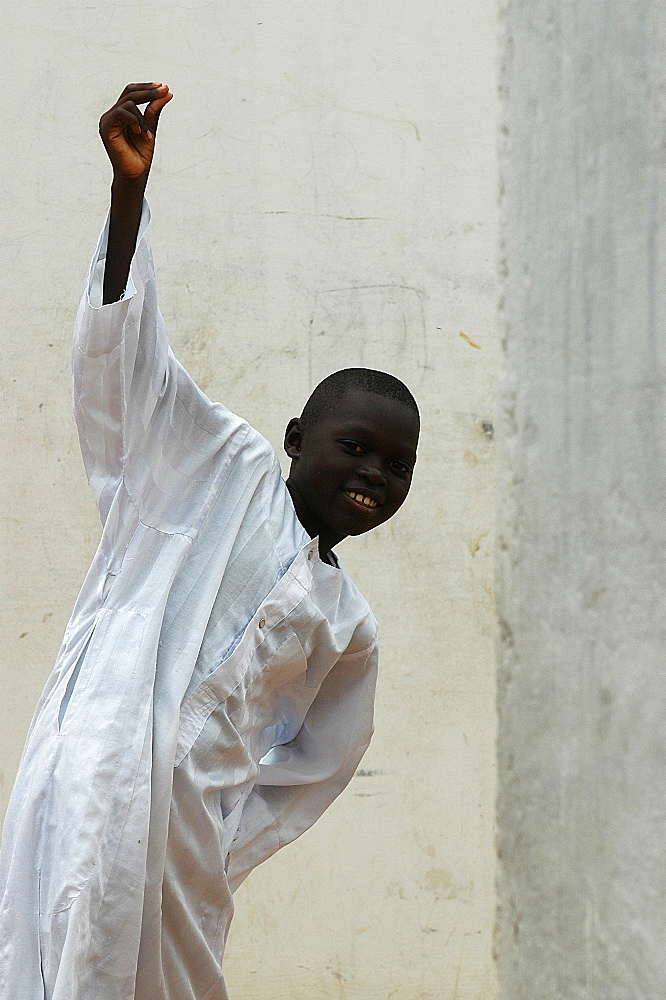 Muslim boy, Dakar, Senegal, West Africa, Africa