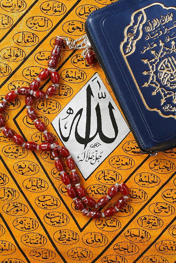 Symbols of Islam, Paris, France, Europe