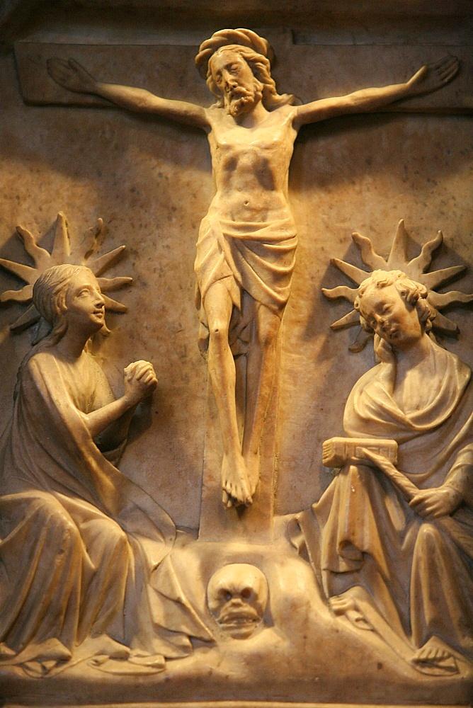 Retable, Saint Seurin Basilica, Bordeaux, Gironde, Aquitaine, France, Europe