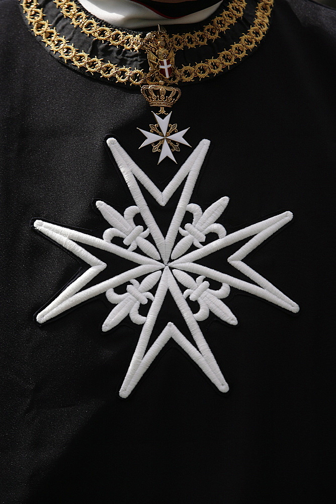 Order of Malta cross, Paris, France, Europe