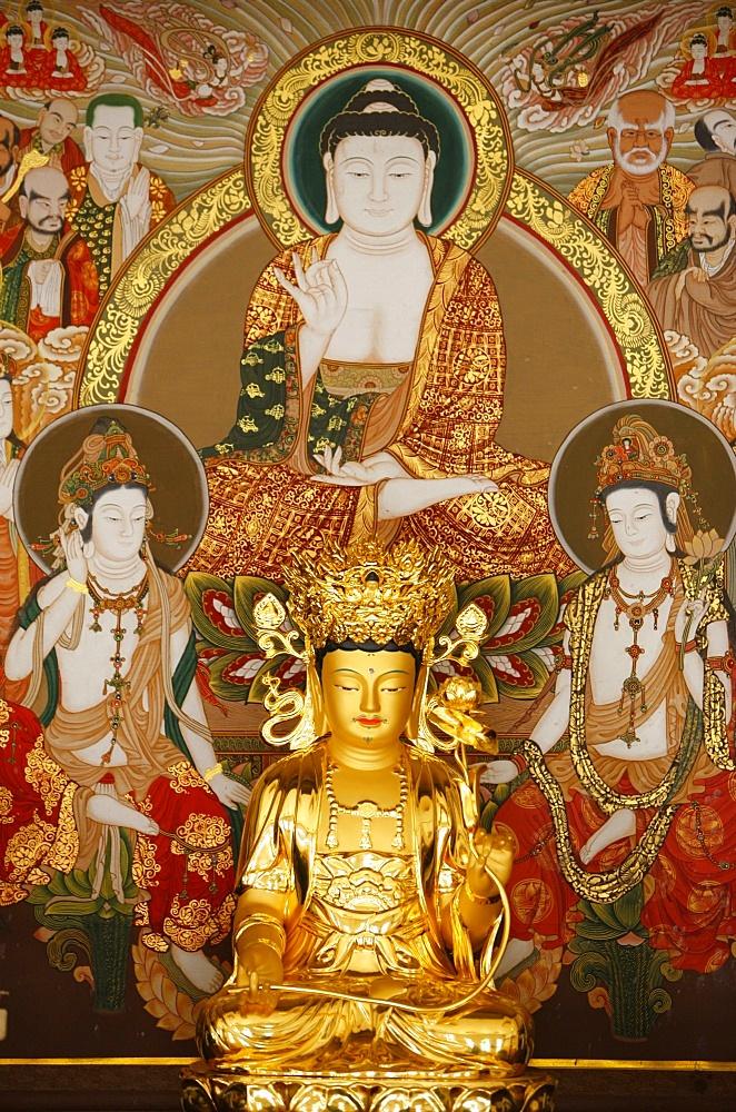 Kwanseum Bosal, Avalokitesvara (Bodhisattva of Compassion), Seoul, South Korea, Asia