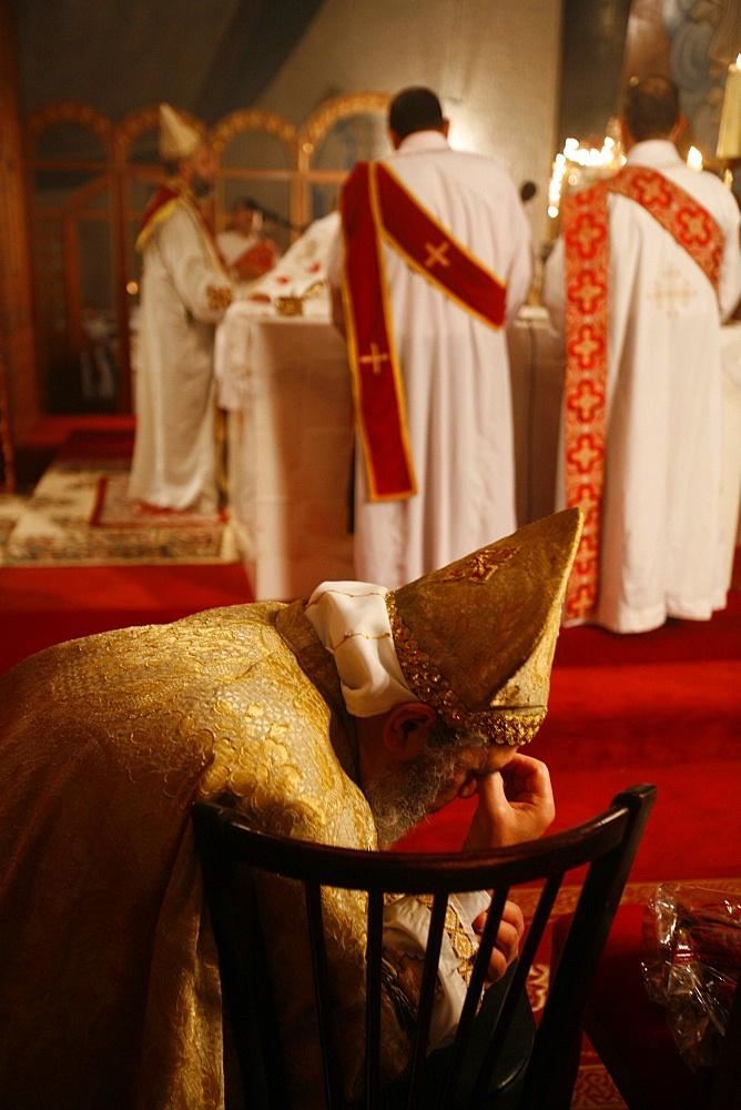 Orthodox Coptic celebration, Chatenay-Malabry, Hauts-de-Seine, France, Europe - 809-2031