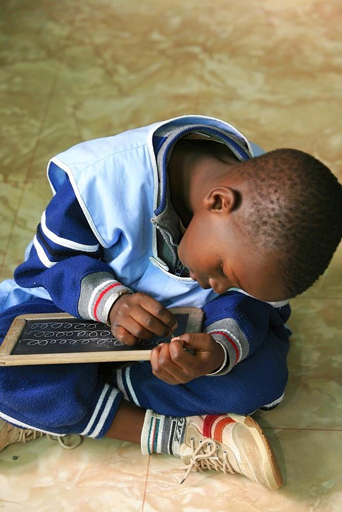 Schoolboy, St. Louis, Senegal, West Africa, Africa