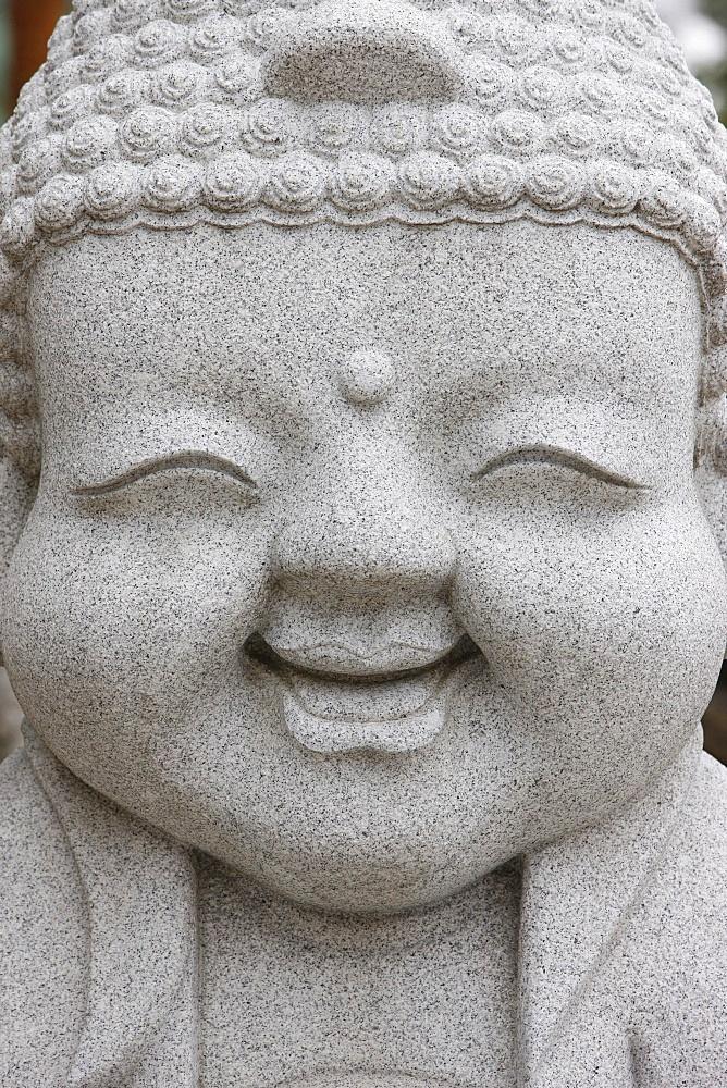 Smiling Buddha, Jogyesa Temple, Seoul, South Korea, Asia