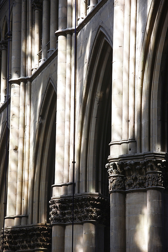 Arches, Reims Cathedral, UNESCO World Heritage Site, Reims, Marne, France, Europe