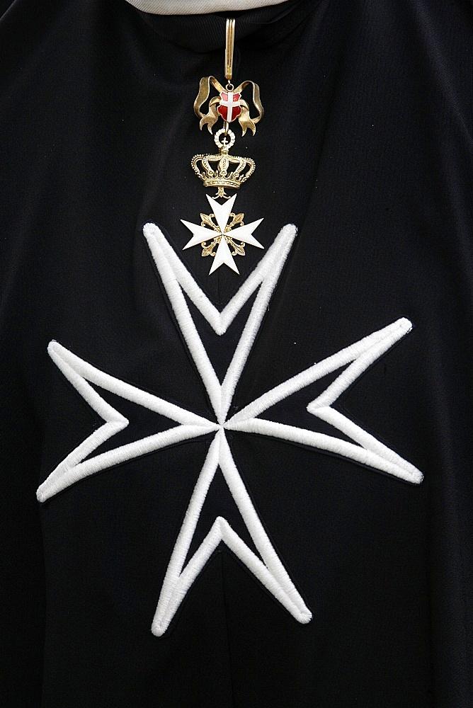 Order of Malta cross, Paris, France, Europe