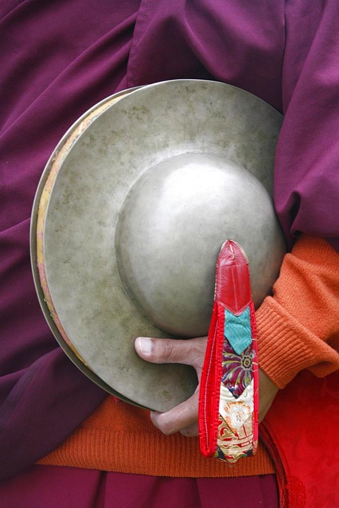 Tibetan gong, Paris, Ile de France, France, Europe