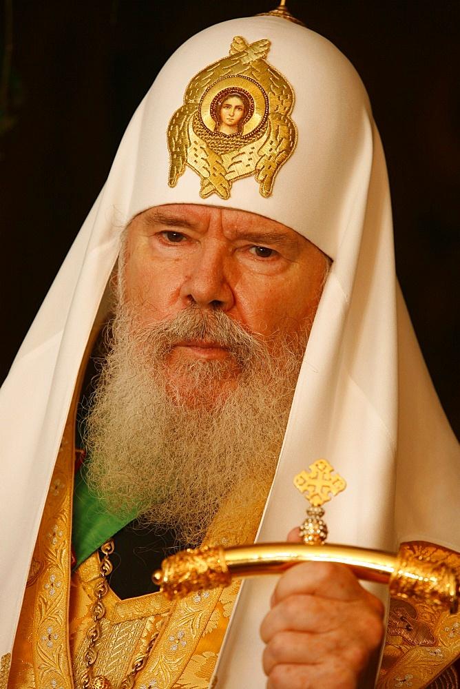 Moscow Orthodox Patriarch Alexis II, Paris, France, Europe