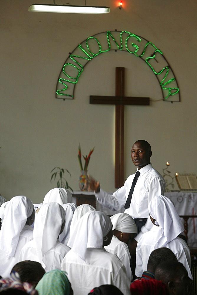 Makelekele Evangelical church, Brazzaville, Congo, Africa