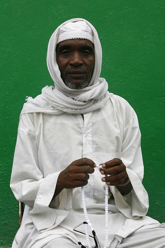 African muslim, Brazzaville, Congo, Africa