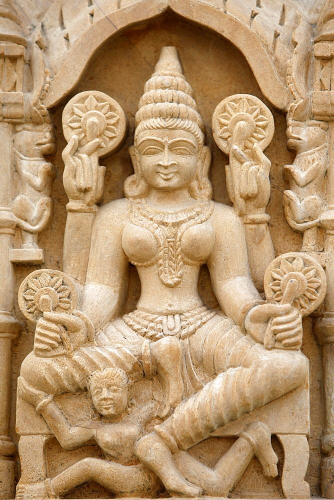 Pashtunath Jain temple sculpture, Haridwar, Uttarakhand, India, Asia
