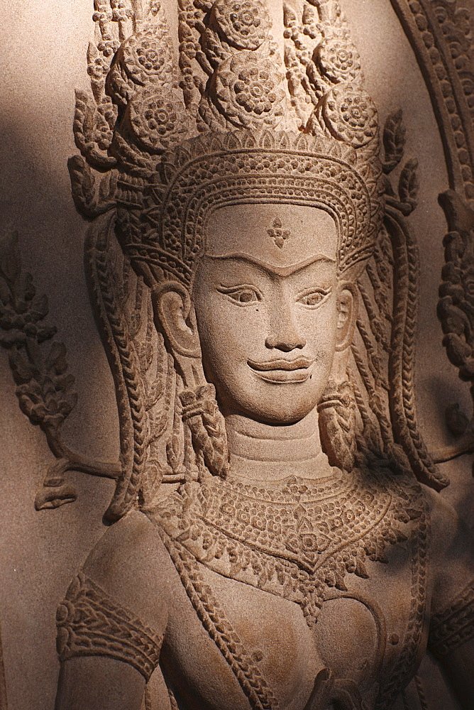 Apsara, Siem Reap, Cambodia, Indochina, Southeast Asia, Asia