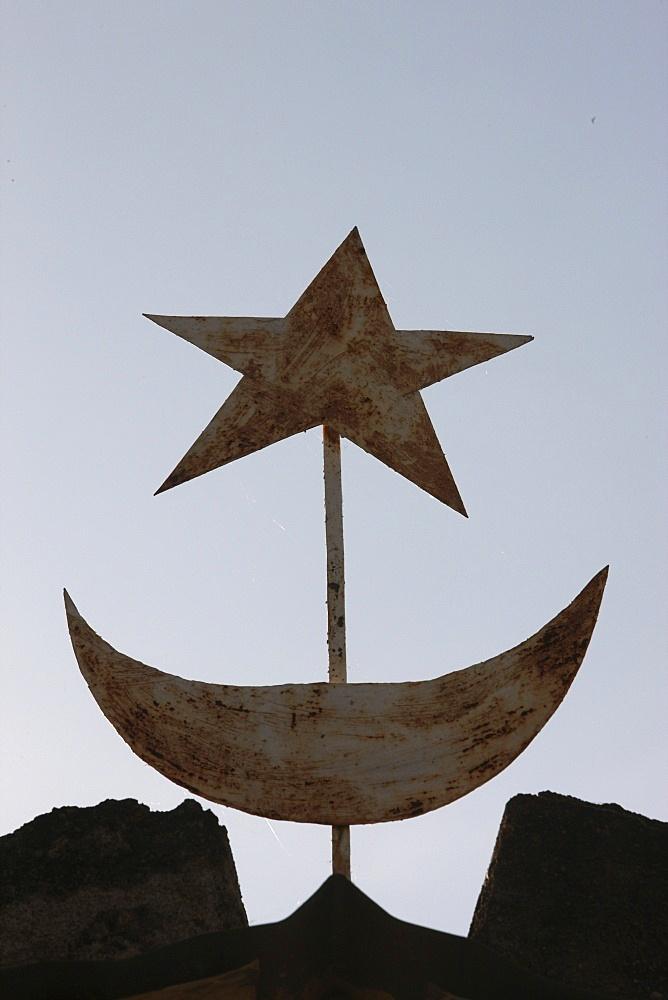 Muslim symbols, Bamako, Mali, West Africa, Africa