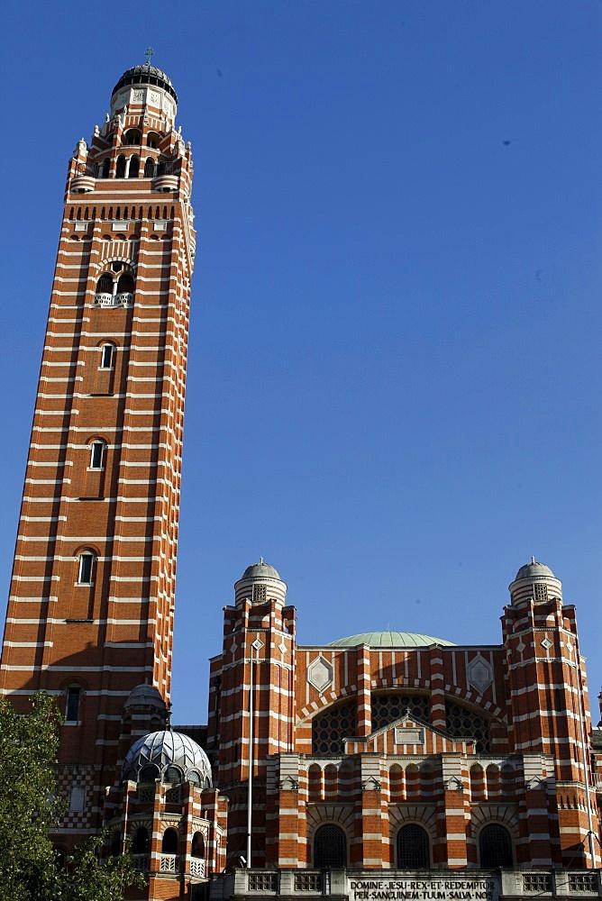 Westminster Catholic cathedral, London, England, United Kingdom, Europe
