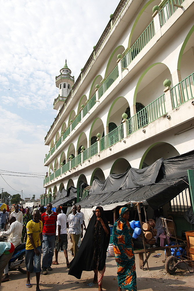 Mosque in Brazzaville, Congo, Africa