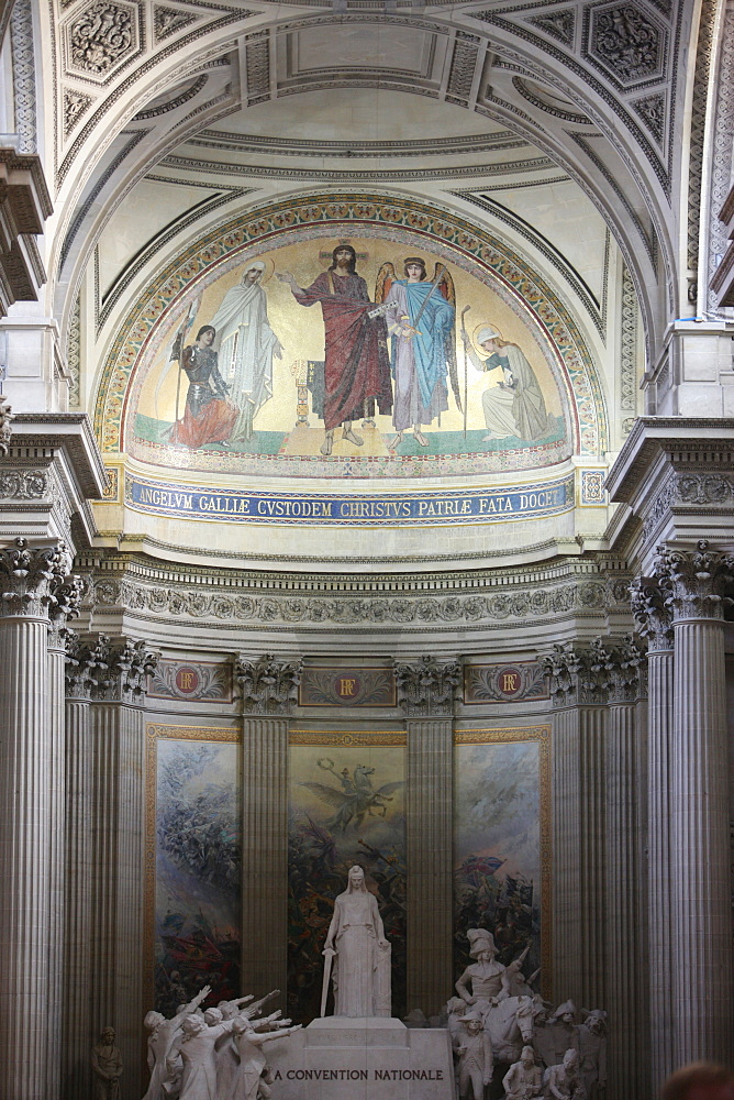 Pantheon chancel, Paris, France, Europe