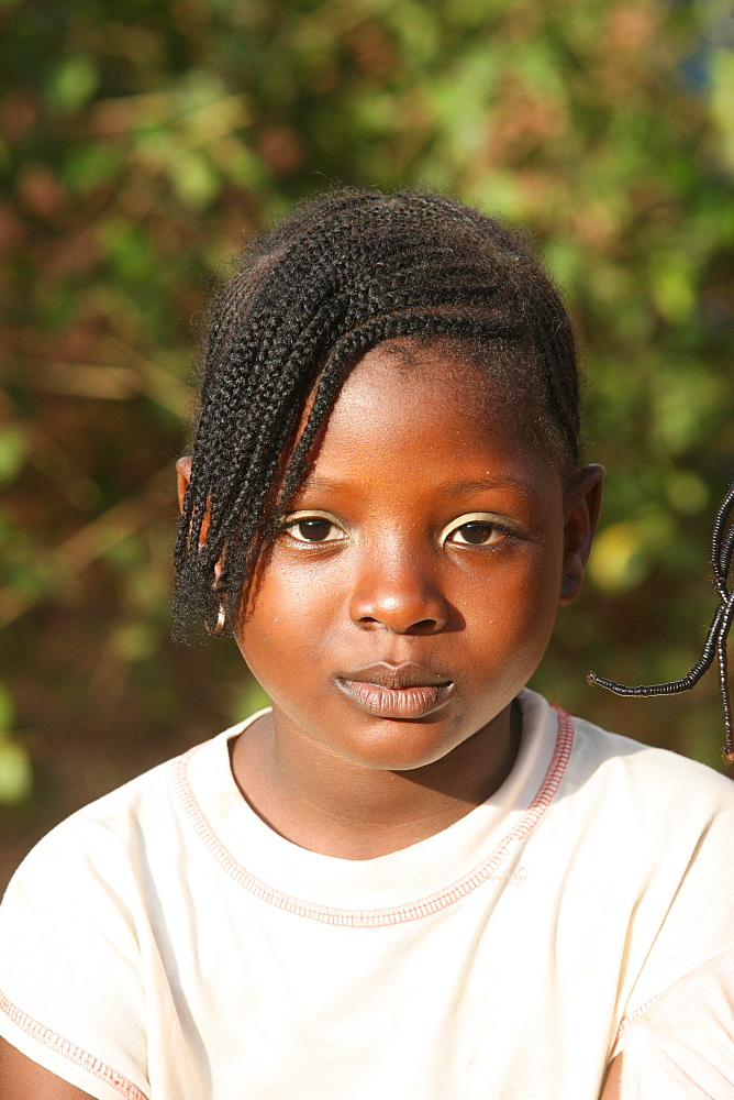 African girl, Lome, Togo, West Africa, Africa