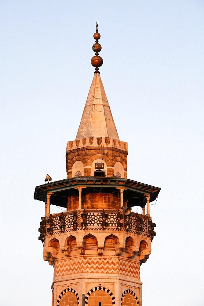 Minaret, Tunis, Tunisia, North Africa, Africa