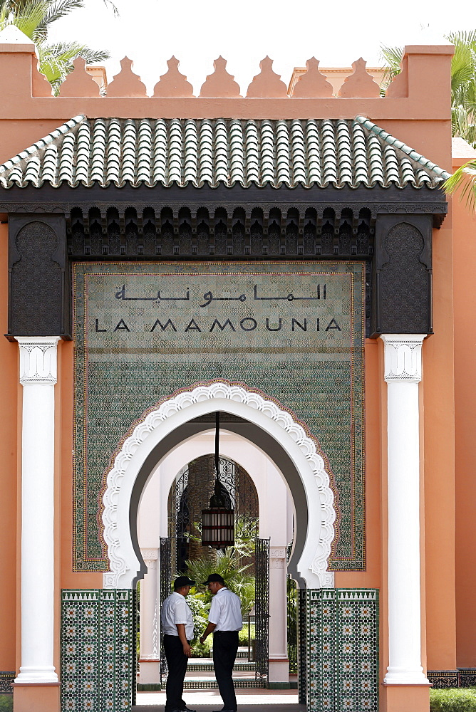 Hotel La Mamounia, Marrakesh, Morocco, North Africa, Africa