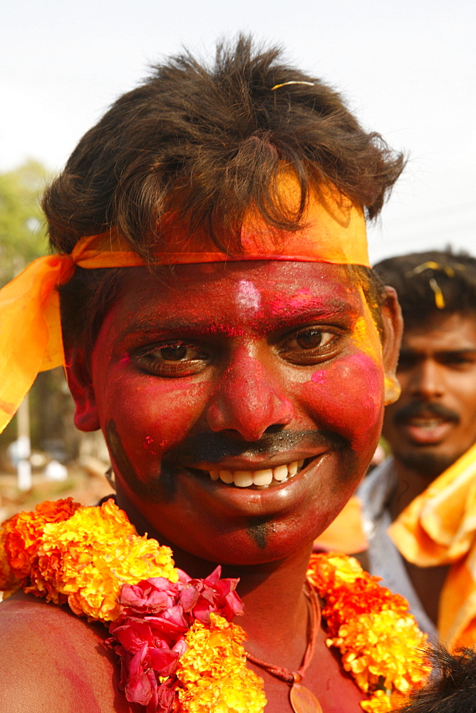 Mariamman's cult celebrated by the Tamil community, Tamil Nadu, India, Asia