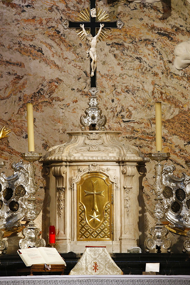 Tabernacle, Karlskirche (St. Charles's Church), Vienna, Austria, Europe
