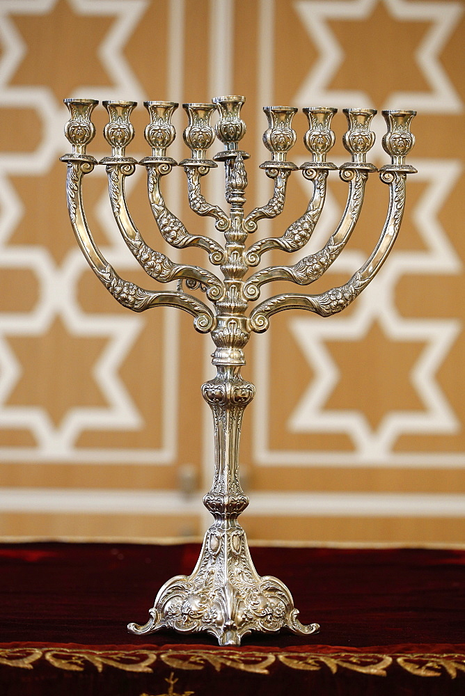 Hanukkah candelabra, Paris, France, Europe